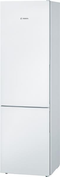 BOSCH_Chladnicka 201 cm, chlad. 248l, mraz. 94l, 237 kWh/365 dni LED-displej A++ Biela