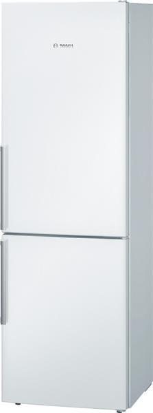BOSCH_Chladnicka 186 cm, chlad. 214l, mraz. 88l, 149 kWh/365 dni LED-displej (2 chladiace okruhy) A+++ Biela