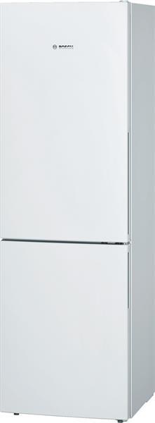 BOSCH_Chladnicka 186 cm NoFrost chlad. 233l, mraz. 86l, 239 kWh/365 dni LED-displej A++ Biela
