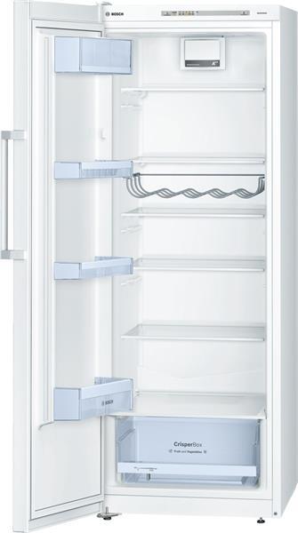 BOSCH_Chladnicka 161 cm Jednodverova 290 l, 107 kWh/365 dni A++ LED Biela