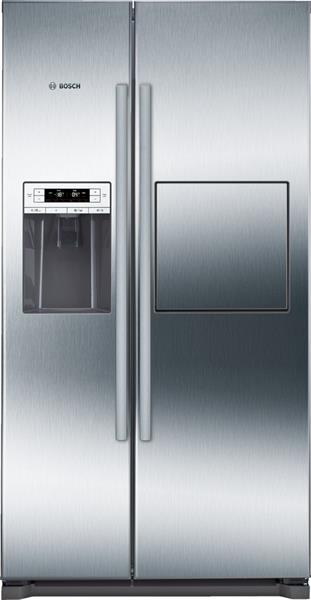 BOSCH_Chladnicka 177 cm, noFrost, chlad. 359l, mraz. 163l, 432kWh/365 dni LCD-displej A+ Nerez