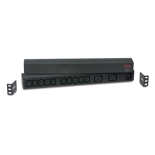Rack PDU, Basic, 1U, 16A,208&230V, (10)C13 & (2)C19, IEC-320 C20