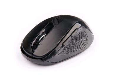 C-Tech myš WLM-02 čierna, bezdrôtová, 1600DPI, USB. Nano receiver, wireless