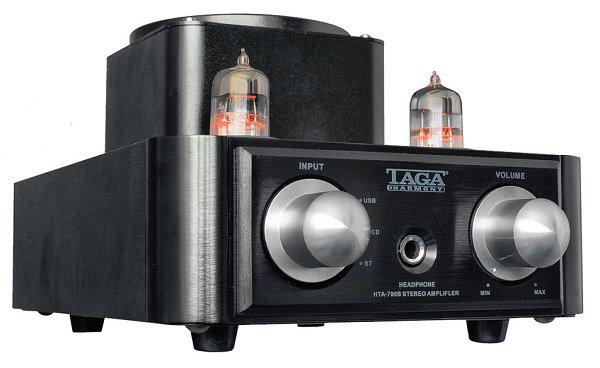 Taga Harmony HTA-700B SE- hybridny elektrónkový stereo zosilňovač