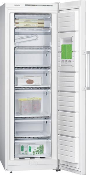 SIEMENS_Mraznicka 176 cm, mraz. 220l, 204 kWh/365 dní, LED-displej, A++, biela