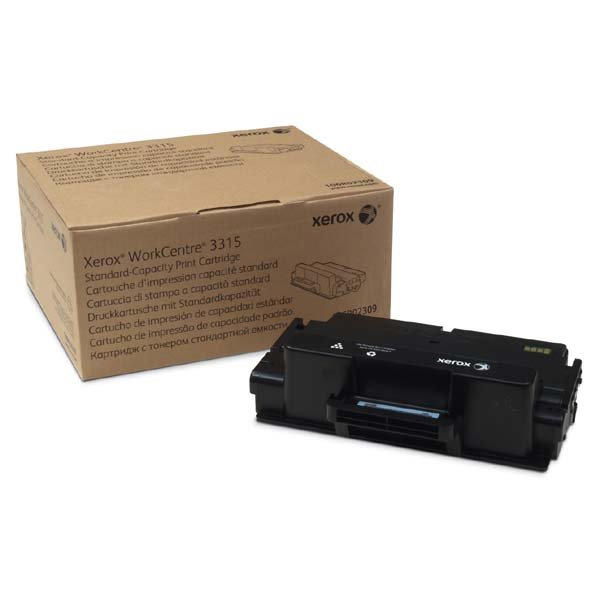 XEROX BLACK STANDARD/HIGH CAPACITY TONER CARTRIDGE, WORKCENTRE 3325/3315 DMO