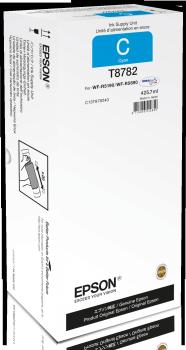 Epson atrament WF-R5000 series cyan XXL - 425.7ml