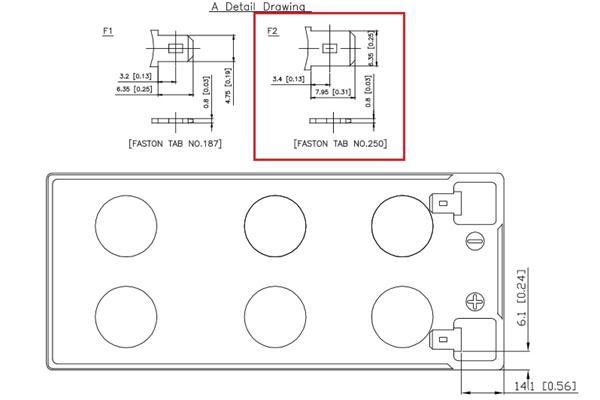 EATON Batéria 12V 9Ah pre UPS Eaton ( širší faston )