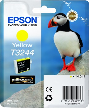 Epson atrament SC-P400 yellow