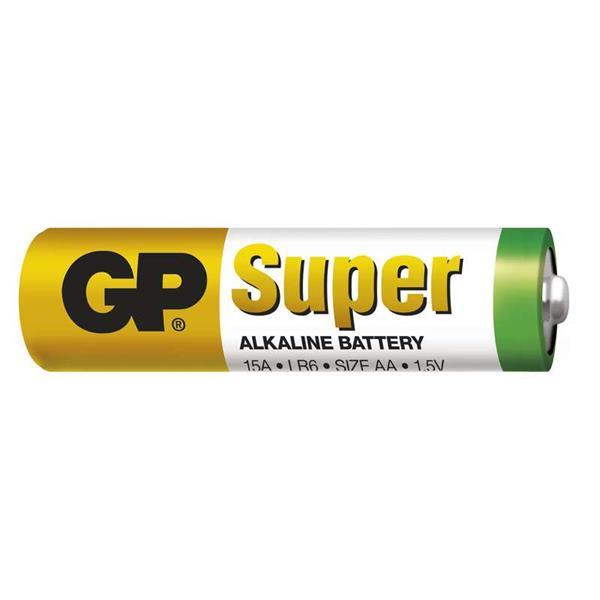 GP Super alkalická AA batéria, balenie 10 ks. LR6