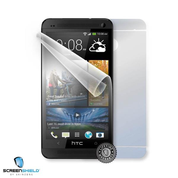ScreenShield HTC One (M7) Dual sim - Film for display + body protection