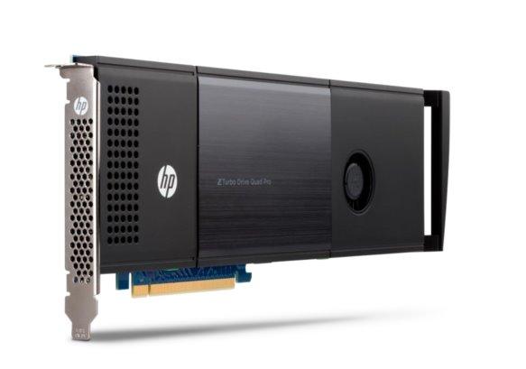 HP Z Turbo G2 Drv Quad Pro 2x512GB PCIe SSD