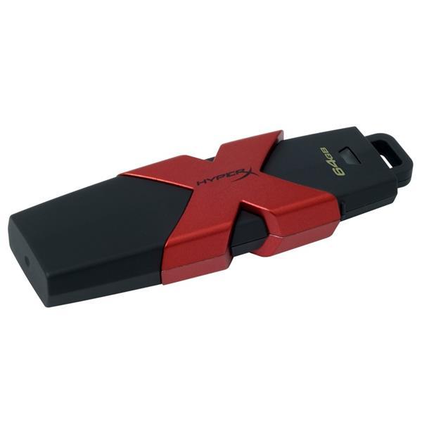 64 GB . USB 3.1 klúč . Kingston DataTraveler HyperX Savage ( r350MB/s, w180MB/s )