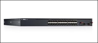 Dell Networking N4032F 24x 10GbE SFP+ Fixed Ports 1x Modular bay 2x Power Supplies Included