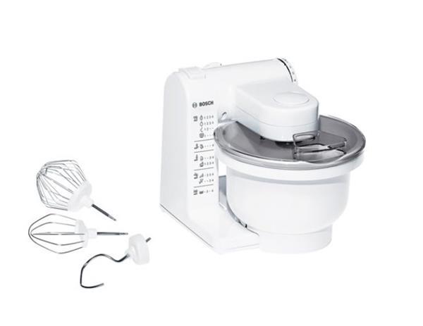BOSCH_Univerzálny kuchynský robot Biely
