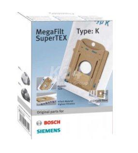 BOSCH_Filtračné vrecko MegaFilt Super TEX, •Obsah: 4 filtračné vrecká s uzáverom, 1 mikro-hygienický filter