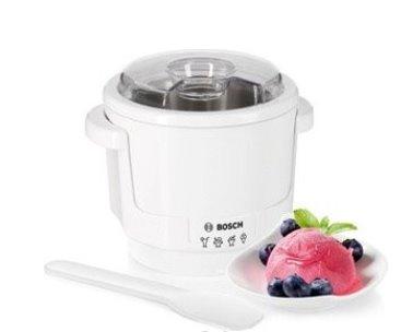 BOSCH_Šľahač na zmrzlinu, dvojstenná chladiaca nádoba, maximálne množstvo pripravenej zmrzliny: 550 g na 1 pracovný chod