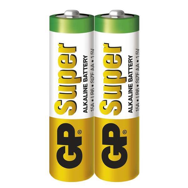 GP Super alkalická AA batéria, balenie 2 ks. LR6