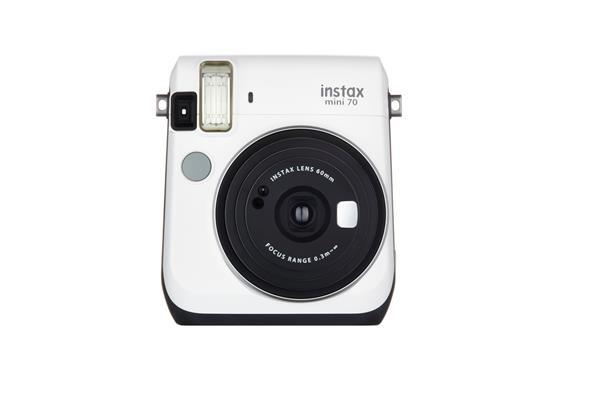 FUJIFILM Instax Mini 70 White - unikatny fotoaparat s tlacou fotografii