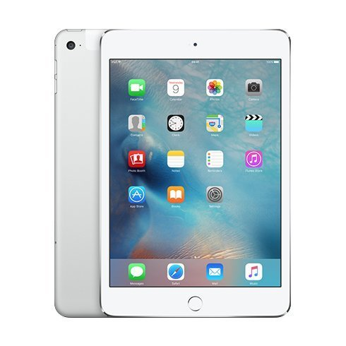 Apple iPad mini 4 128GB Cellular + Wi-Fi Silver