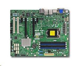 Supermicro X11SSAEF 1xLGA1151 (E3,i7), iC236,DDR4,8xSATA3,PCIe 3.0 (2 x16, 2 x1),2xPCI-32,1xM.2, HDMI,DP,DVI,Audio,IPMI