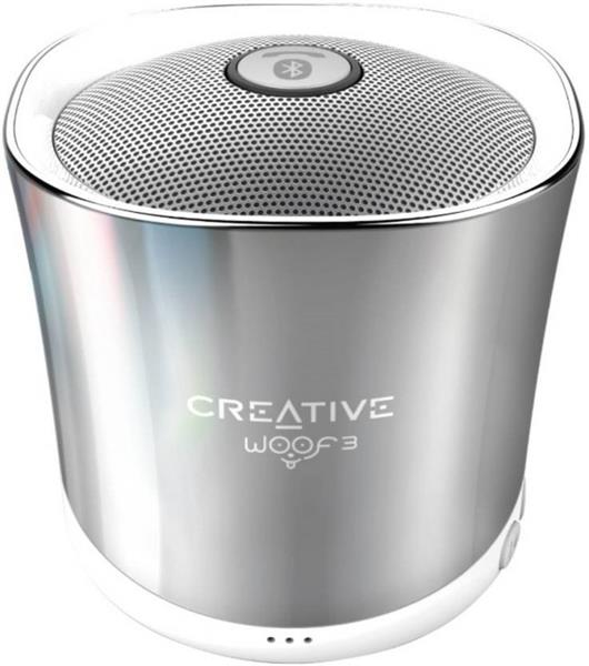 Creative WOOF3 BT, winter chrome