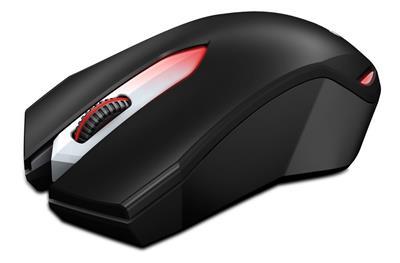 Genius hráčska myš X-G200, USB čierna.