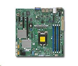 Supermicro X11SSL-CF 1xLGA1151, iC232,DDR4,6xSATA3,PCIe 3.0 (1 x8, 1 x8 (in x16), 1 x4 (in x8)), IPMI (bulk)