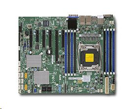 Supermicro 1xLGA2011-3, iC612 8x DDR4 ECC, 10xSATA3/8xSAS3,sw LSI 3008, 10 xSATA3,(PCI-E 3.0/4(x8)PCI-E 2.0/1,1(x2,x4),4