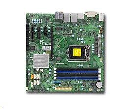 Supermicro X11SSQ 1xLGA1151 (i7), Q170,DDR4,6xSATA3,PCIe 3.0 (1 x16, 2 x4, 1 x1),1x M.2,HDMI,DP,DVI,Audio