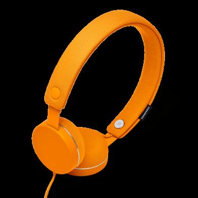 URBANEARS HUMLAN Pumpkin, štýlové uzatvorené slúchadlá, oranžové