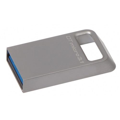 128 GB . USB klúč . Kingston DataTraveler Micro USB 3.1/3.0 ( r100MB/s, w15MB/s )