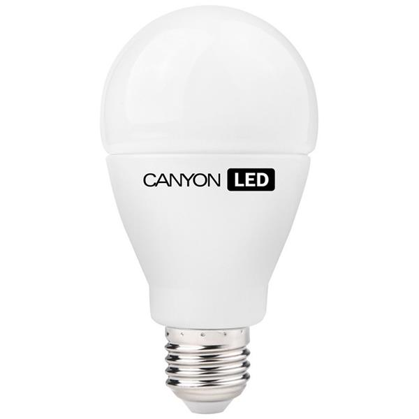 Canyon LED COB žiarovka, E27, guľatá, mliečna, 12W, 1.055 lm, teplá biela 2700K, 220-240V, 200°, Ra>80, 50.000 hod