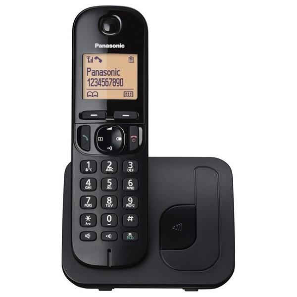 Panasonic KX-TGC210FXB telefon bezsnurovy DECT / cierny 1x