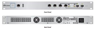 Ubiquiti UniFi Security Gateway Pro, 4-port (rack)