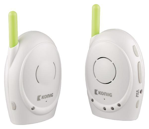 König Digitálna zvuková detská pestúnka 2,4 GHz