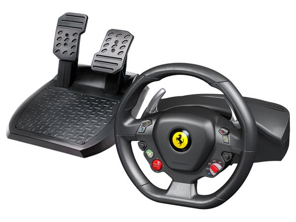 Thrustmaster Sada volantu a pedálov Ferrari 458 Italia pre Xbox 360 a PC (4460094)