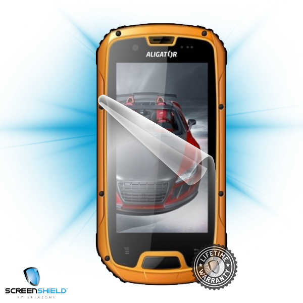 ScreenShield Aligator RX430 eXtremo Dual SIM - Film for display protection