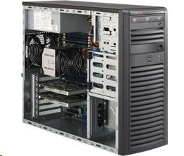 Supermicro Workstation SYS-5038A-I tower SP 2x GigaLAN