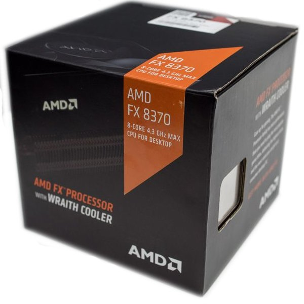 AMD, FX-8370 Processor BOX, soc. AM3+, 125W Wraith Cooler