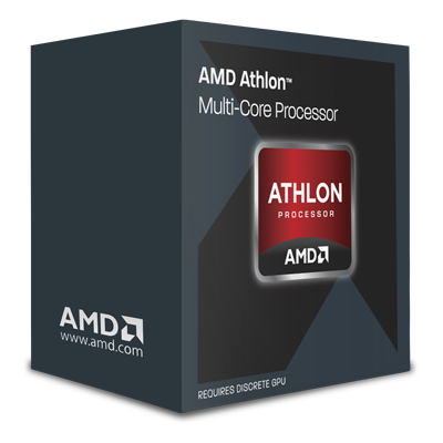 AMD, Athlon II X4 880K Processor BOX, soc. FM2+, 95W, Black Edition, 125W tichý ventilátor