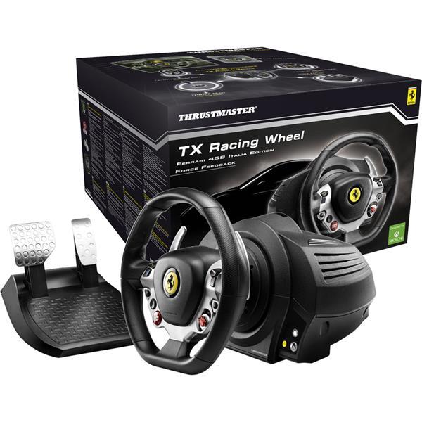 Thrustmaster Sada volantu a pedálů TX Ferrari 458 Italia Edition pro Xbox One, One X, One S a PC a PC (4460104)