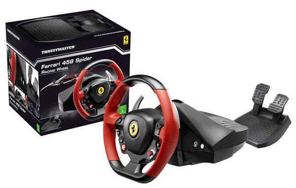 Thrustmaster Sada volantu a pedálov Ferrari 458 SPIDER pre Xbox One (4460105)