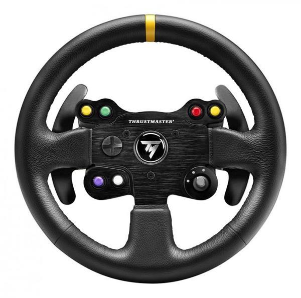 Thrustmaster Volant TM Leather 28 GT Add-On pro T300/T500/TX Ferrari 458 Italia (4060057)