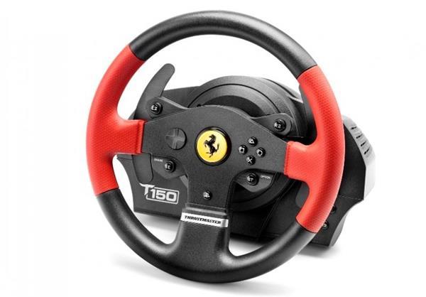 Thrustmaster Sada volantu a pedálov T150 Ferrari pre PS4, PS3 a PC (4160630)