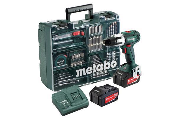 Metabo SB 18 LT Mobilná dielňa (13 mm, 2x4.0 Ah, ASC 30-36 V, 79 ks prísluš, kufrík)