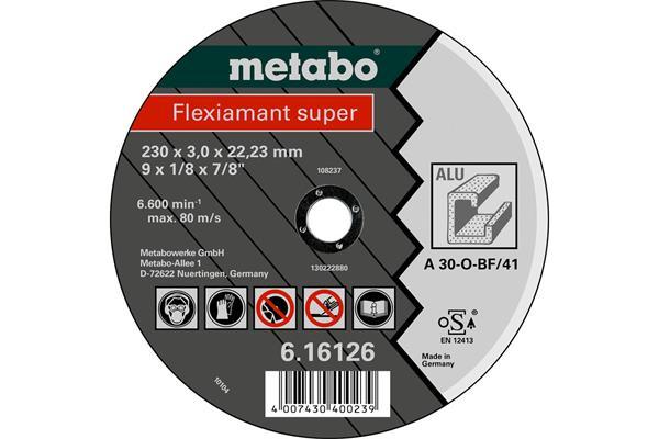 Metabo Rezný kotúč Flexiamant Super 230x3,0x22,23 Hliník TF 41