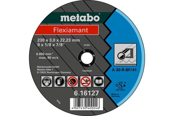 Metabo Rezný kotúč Flexiamant 230x3,0x22,23 Oceľ TF 41