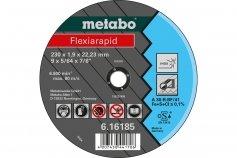 Metabo Flexiarapid 125x2,0x22,2 Inox
