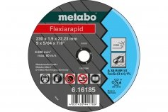 Metabo Flexiarapid 115x1,6x22,2 Inox